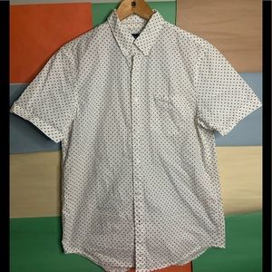 AEO Seriously Soft Button Down Shirt size M